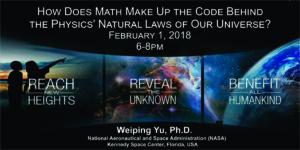 Dr. Weiping Yu - Guest Speaker @ Rosen JCC
